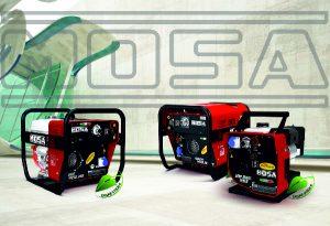 Zváracie generátory MOSA